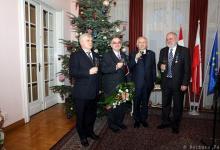 Trzej węgierscy wybitni Przyjaciele Polski odznaczeni wysokimi polskimi odznaczeniami państwowymi
