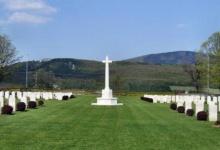 Spotkanie na cmentarzu alianckim w Solymár