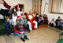Św. Mikołaj odwiedził dzieci w Domu Polskim