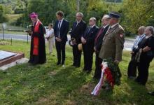 Zalaszentgrót- Csáford: uroczystości z okazji 80. rocznicy przybycia na Węgry pierwszych polskich uc...