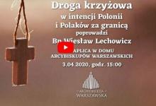 Droga krzyżowa w intencji Polonii i Polaków za Granicą