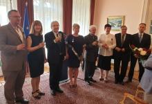 Lengyel állami kitüntetések ünnepélyes átadása